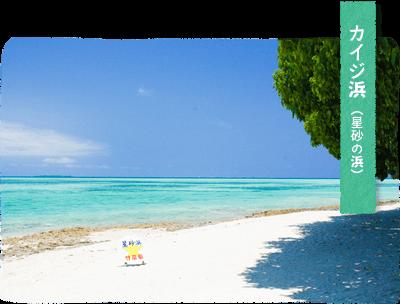 カイジ浜星砂の浜